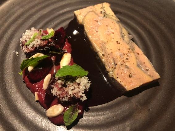Foie gras al vino rosso
