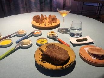Pane, burro e olio