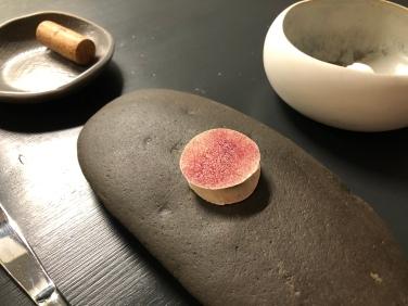 Amouse-bouche: cialda al gorgonzola